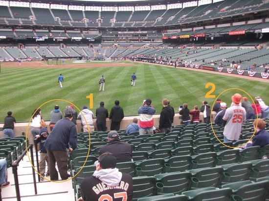 Oriole Park Batting Practice 4911