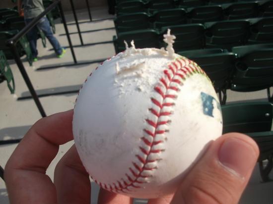 Baseball scuff marks 42111