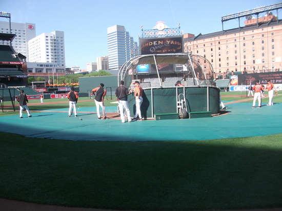 Orioles Batting Practice 42611 1