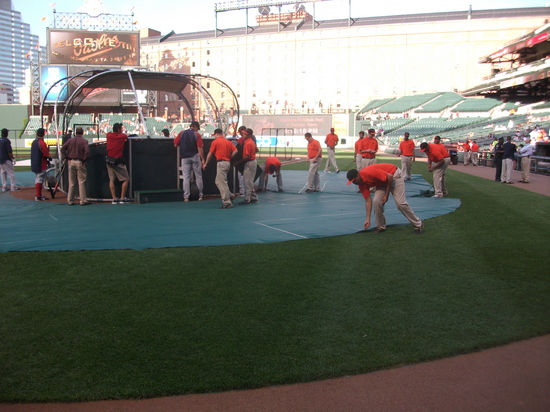 Oriole Park Grounds Crew 42611