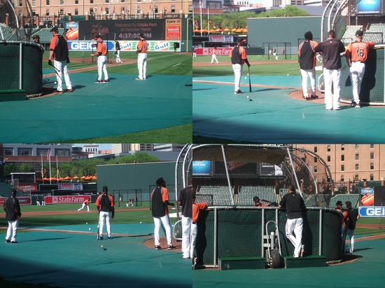 Orioles Batting Practice 42611.jpg
