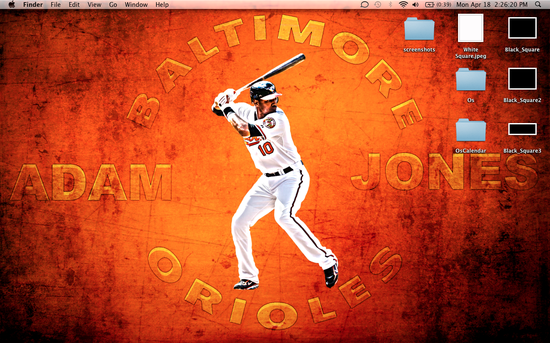 Adam Jones background desktop Orioles