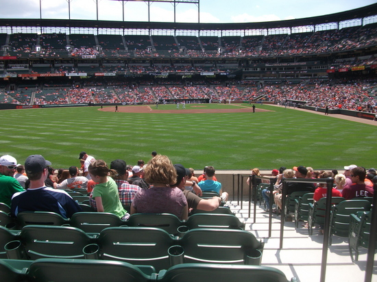 Oriole Park Left Field 5711