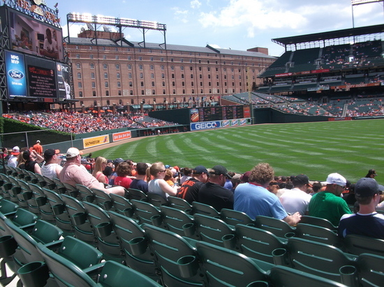 Oriole Park Left Field 5711 2